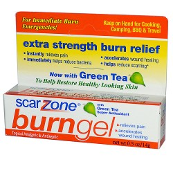 Scar Zone burn gel - 0.5 oz
