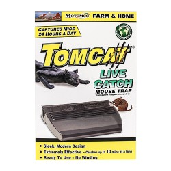 Motomco Ltd D tomcat live catch mouse trap - 2 pack, 4 ea