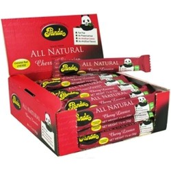 Panda all natural cherry licorice bars - 36 ea