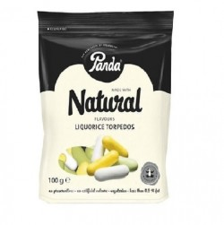 Panda all natural soft licorice bars - 36 ea