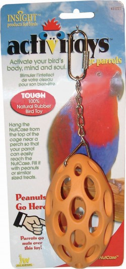 Jw - Small Animal/Bird activitoys nut case - small, 72 ea