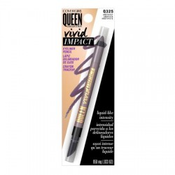 Covergirl queen collection vivid impact eyeliner, gilt - 2 ea