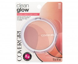 Covergirl clean glow blush, roses - 2 ea