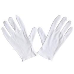 Carex health brands fgp75l00 large soft hands cotton gloves,  assorted colors  - 2 ea