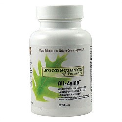 FoodScience Of Vermont All-Zyme tablets - 90 ea