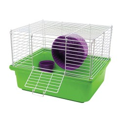 Super Pet- Container my first hamster home 1-story unassembled - 6 pack, 6 ea