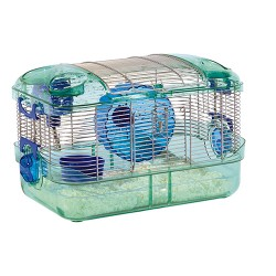 Super Pet- Container crittertrail quick clean habitat - 16x10.5x10.5 in, 6 ea