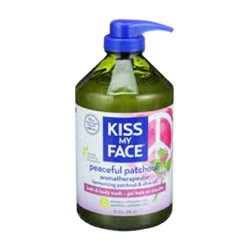 Kiss my face peaceful patchouli bath and body wash - 32 oz