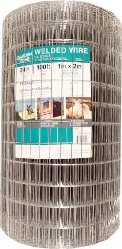 Garden Zone, Llc welded cage wire fencing - 24inx100ft, 1 ea