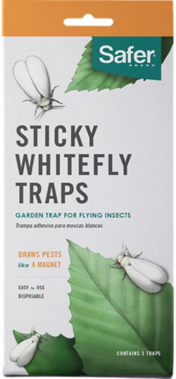 Woodstream Lawn & Grdn D safer sticky whitefly disposable trap - 3 pack, 24 ea