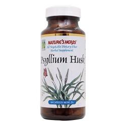 Natures Herbs Psyllium husk 560 mg capsules - 100 ea