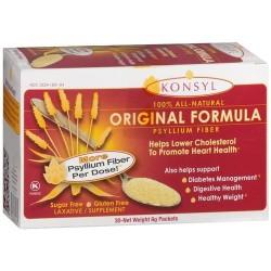 Konsyl Original Formula Psyllium Fiber packtes - 30 ea