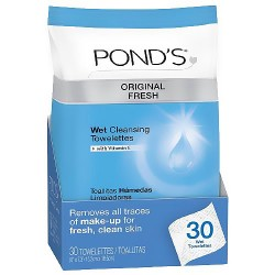 Ponds clean sweep cleansing towelettes - 30 ea