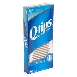Q-tips Cotton Swabs for Clean Ears - 170 ea