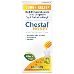 Boiron Chestal Honey Homeopathic Cough Syrup, 8 oz