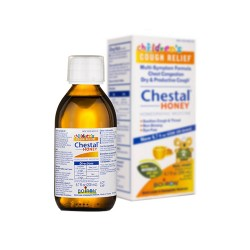 Bioron chestal childrens cough, chest congestion relief syrup, honey  -  6.7 oz