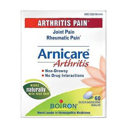 Boiron Arnicare Arthritis Pain Relief Tablets, Homeopathic Medicine - 60 ea