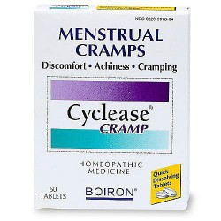 Boiron cyclease cramp homeopathic medicine for menstrual cramps, 60 tablets