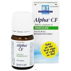 Boericke and Tafel Alpha CF homeopathic tablets - 120 ea