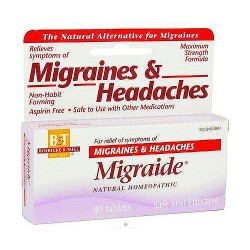 Boericke and Tafel Migraide Headaches tablets - 40 ea