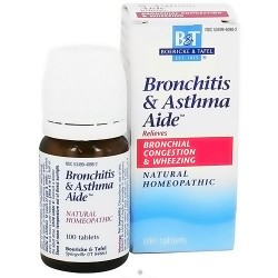 Boericke and Tafel Bronchitis and Asthma Aide tablets - 100 ea