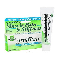 Boericke and Tafel Arniflora arnica muscle pain and stiffness gel - 1 oz