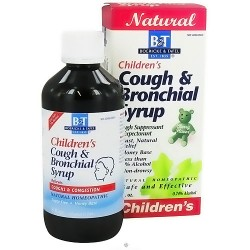 Boericke and Tafel Childrens cough and bronchial syrup - 8 oz