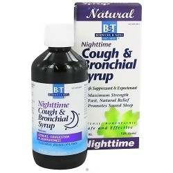 Boericke and Tafel Nighttime Cough and Bronchial syrup - 8 oz