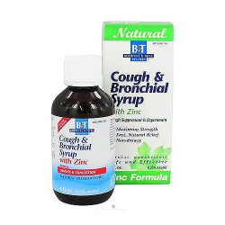 Boericke and Tafel Cough Bronchial syrup with zinc - 4 oz