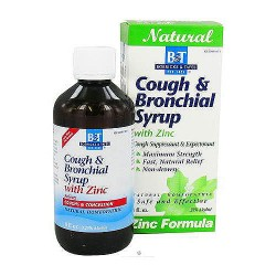 Boericke and Tafel Cough Bronchial syrup with zinc - 8 oz