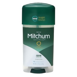 Mitchum clear gel antiperspirant and deodorant, unscented - 2.25 oz