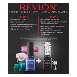Revlon colorstay gel envy longwear nail enamel, cardshark - 2 ea