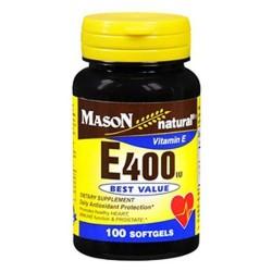 Mason natural vitamin E 400Iu best value softgels - 100 ea