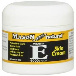Mason Natural Skin Cream Vitamin E 6000Iu - 2 Oz