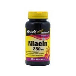 Mason Natural Niacin 250 Mg Extended Release Capsules - 60 Ea