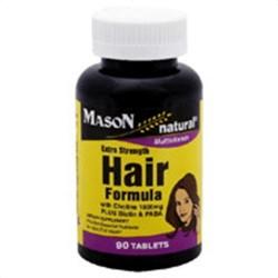 Mason natural hair formula multi vitamin extra strength tablets - 90 ea