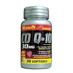 Mason Natural CO Q-10 30 Mg Softgels - 30 Ea