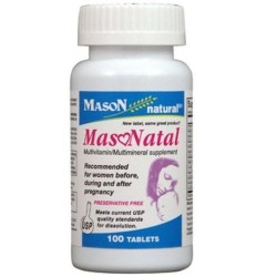 Mason Natural Masonatal Compare To Stuart Prenatal Tablets - 100 Ea