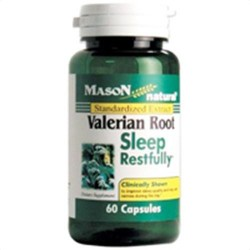 Mason Natural Valerian Root Dietary Supplement Capsules, Sleep Restfully - 60 Ea