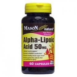 Mason Natural Alpha Lipoic Acid 50 Mg Capsules - 60 Ea