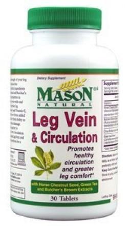 Mason Natural Leg Vein And Circulation Tablets, Condition Formula - 30 Ea