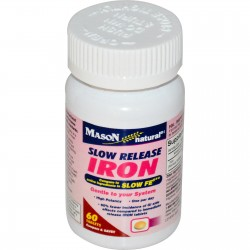 Mason Natural Slow Release Iron Tablets - 60 Ea