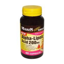 Mason Naturals Alpha Lipoic Acid 200Mg Capsules - 60 Ea
