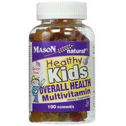 Mason healthy kids overall health multivitamin jellies assorted flavors - 100 ea