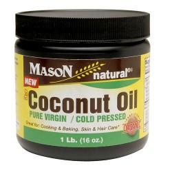 Mason Natural Coconut Oil - 16 oz