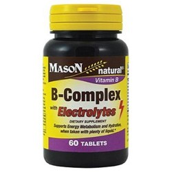 B-Complex with Electrolytes - 60 ea