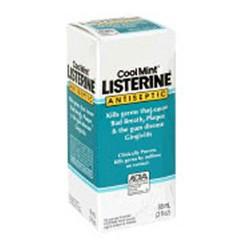 Listerine Antiseptic Mouthwash, Cool Mint - 95 ML