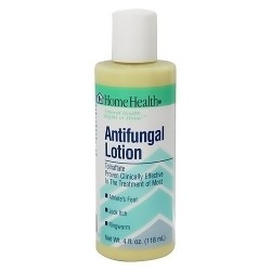 Home Health antifungal lotion for athletes foot, jock itch and ringworm - 4 oz