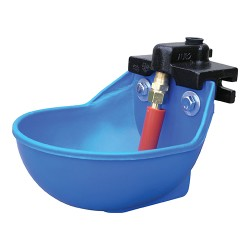 Smb Mfg super flow poly water bowl for cattle and horse - 22 liter/min, 1 ea