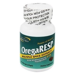 North American Herb and Spice OregaResp multiple spice extract softgels - 60 ea